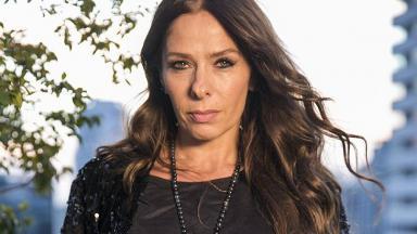 A atriz Adriane Galisteu