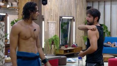 João Zoli e Sandro Pedroso conversando