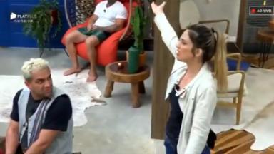 Nadja em briga com Ana Paula