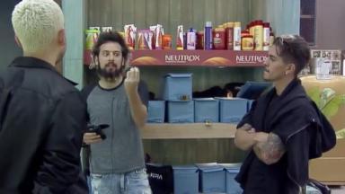 Lucas, Cartolouco e Biel