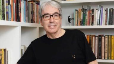 Alcides Nogueira de óculos e camiseta preta