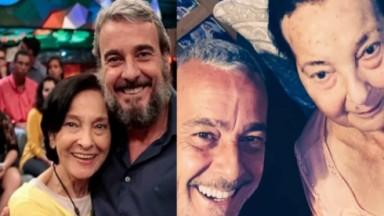 Alexandre Borges e Dona Rosa Linda