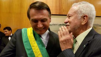 Jair Bolsonaro e Alexandre Garcia