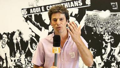 Alexandre Silvestre repórter esportivo