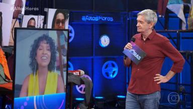 Serginho Groisman entrevistou Gleici Damasceno