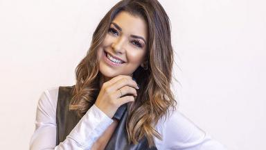 Amanda Françozo sorrindo