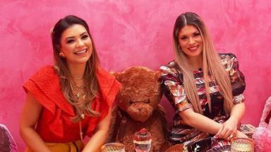Adryana Ribeiro é a convidada do programa De Papo com Amanda Françozo