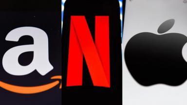 Amazon, Netflix e Apple