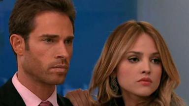 Francisco e Nikki juntos em Amores Verdadeiros