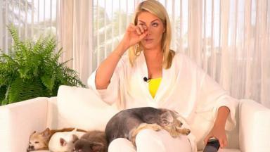 Ana Hickmann chorando no YouTube