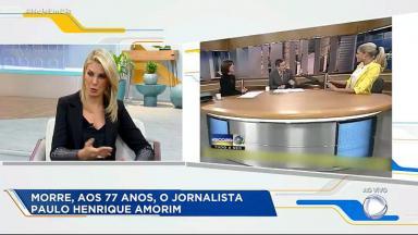 """Ana Hickmann no """"Hoje em Dia"""""""