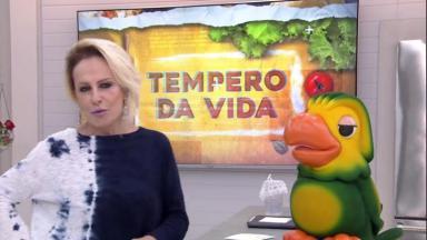 Ana Maria Braga e Louro José no Mais Você