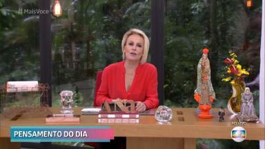 """Ana Maria Braga apresentando o """"Mais Você"""""""