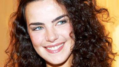 A atriz Ana Paula Arósio