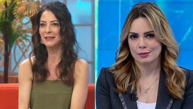 Ana Paula Padrão e Rachel Sheherazade