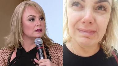 Ana Paula Pituxita no Superpop e chorando
