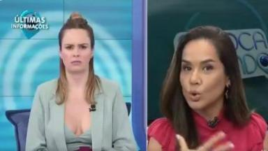Ana Paula Renault conversa com Isabele Benito no Fofocalizando