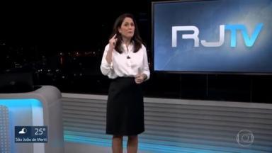Ana Luiza Guimarães se atrapalha no RJ2