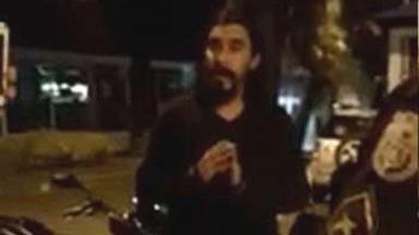 André Gonçalves é detido após xingar policial