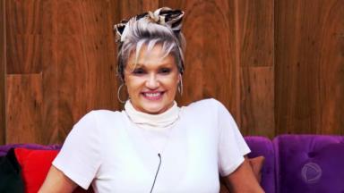 Andréa Nóbrega durante o reality show A Fazenda 2019, exibido pela Record