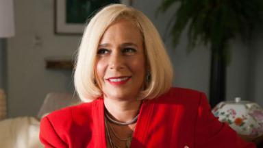 Andréa Beltrão relatou ter penado bastante para dar vida a uma personagem real e célebre: Hebe Camargo