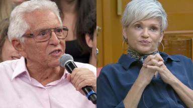 Andréa Nóbrega voltou a falar do ex-marido, o apresentador Carlos Alberto de Nóbrega em A Fazenda 2019