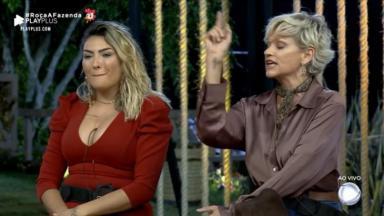 Mãe de Thayse Teixeira se manifestou e defendeu a filha de Andréa Nóbrega no reality show A Fazenda 2019.