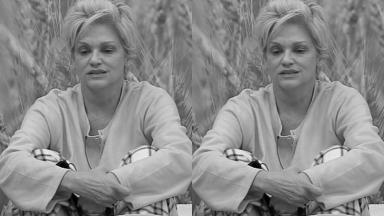 Andréa Nóbrega ficou insatisfeita com brincadeira em A Fazenda 2019