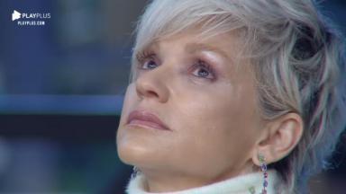 Andréa Nóbrega durante o reality show A Fazenda 2019