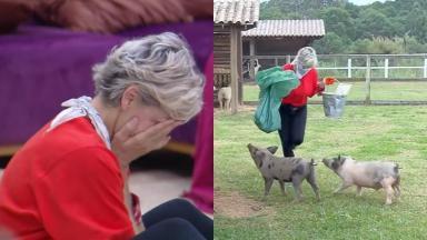 Andréa Nóbrega dá relato de momento tenso vivido no reality show A Fazenda 2019