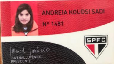 Andréia Sadi sócia do São Paulo
