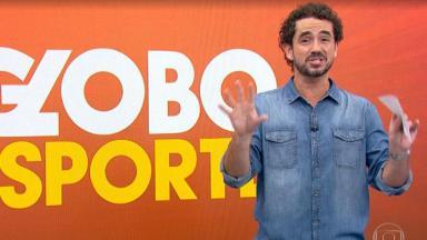 O apresentador Felipe Andreoli