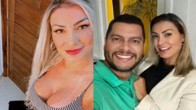 Andressa Urach e Thiago
