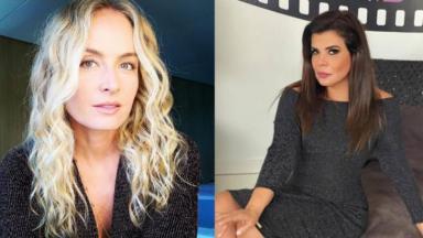 Angélica negou inimizade com Mara Maravilha; apresentadoras foram concorrentes no passado