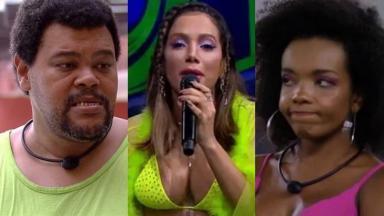 Babu Santana, Anitta e Thelma BBB20