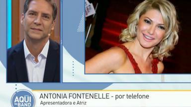 Luís Ernesto Lacombe e Antonia Fontenelle