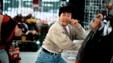 Jackie Chan em Arrebentando em Nova York
