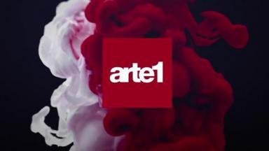 Logotipo de canal Arte 1 em destaque