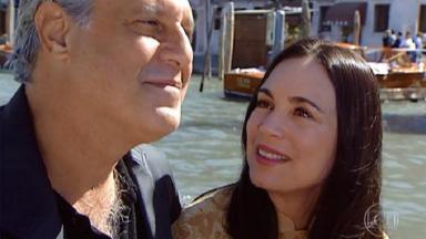 Antônio Fagundes e Regina Duarte em cena de Por Amor