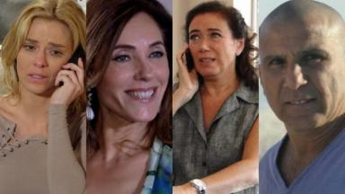 Carolina Dieckmann, Christiane Torloni, Lilia Cabral e Eri Johnson opinaram sobre Fina Estampa, em reprise na Globo