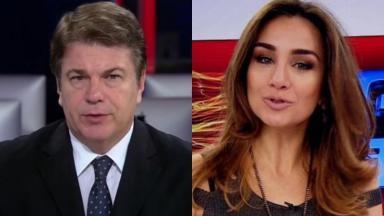 Augusto Xavier e Millena Machado são os novos apresentadores do RedeTV! News