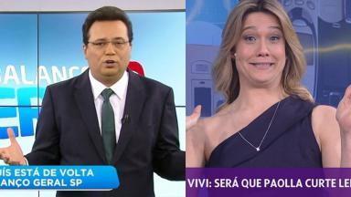 Geraldo Luís e Fernanda Gentil