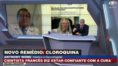Anthony Wong é entrevistado por Datena no Brasil Urgente