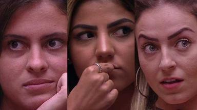 Hana, Hariany e Paula vão para o quarto dos Sete Desafios