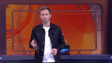 Tiago Leifert no Big Brother
