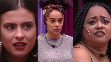 Rízia, Hana e Gabriela