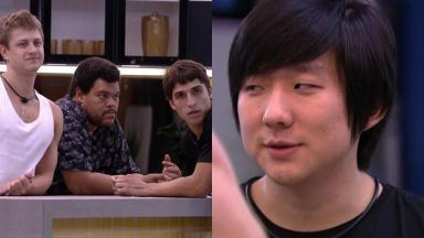 Pyong recebe zoação de Lucas  após ser barrado no quarto do líderdo BBB20