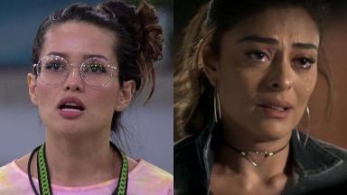 Juliette (à esquerda) e Juliana Paes (à direita) em A Força do Querer