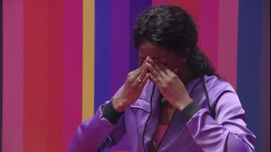 Camilla de Lucas chora ao ganhar prova do anjo do BBB21