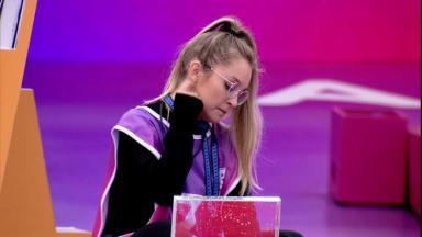 Carla Diaz durante prova do anjo do BBB21